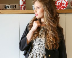 long soft blond wavy curly lace blond hair side look